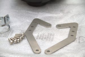 brackets and screws